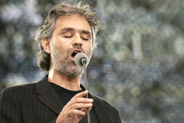 Bocelli sings at launch of Kuwait culture centre