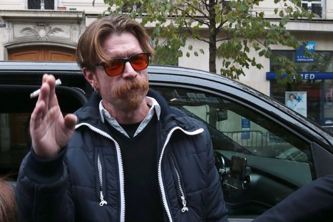 Eagles of Death Metal singer makes appearance at tribute show