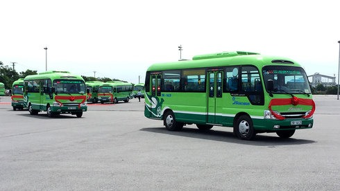The 'May 19' Transport Co-operative on Sunday launched 50 new buses to run on its Eastern Coach Station - Hóc Môn route in HCM City.