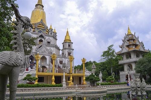 Bửu Long, HCM City's unique pagoda