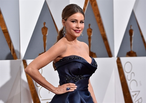 Actress Sofia Vergara, pictured at the 88th Annual Academy Awards, topped Forbe's annual list of best paid TV actresses on September 14, 2016 consistently since 2011. — AFP Photo