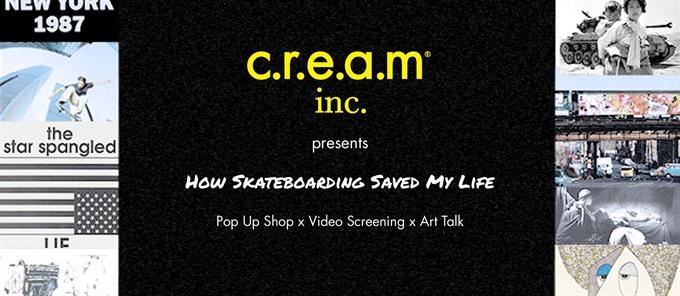"""How Skating Saved My Life"": Pop-up shop, screening and art talk"