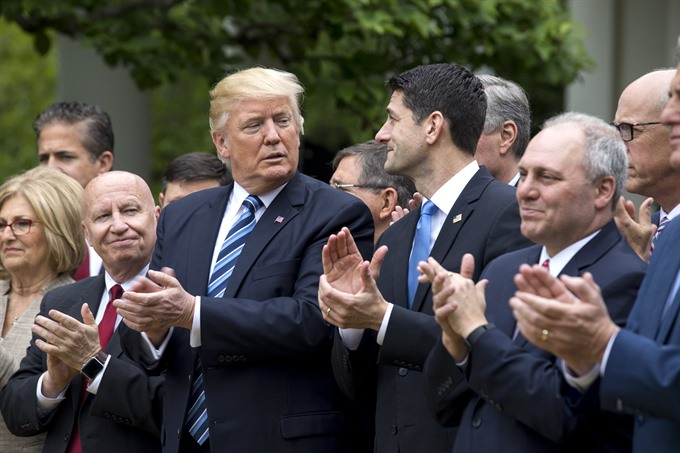 Trump savors win as House passes Obamacare repeal