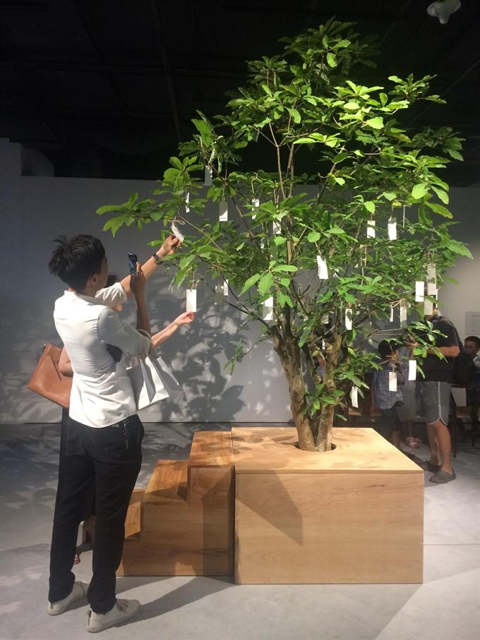 Yoko Ono project at new art centre
