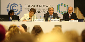 The UN's 24th Climate Change Conference (COP24) was held in Katowice, Poland from December 2 to 14