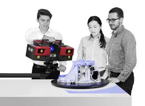 Hiện tại hóa ngành đúc với các giải pháp đo lường 3D quang học