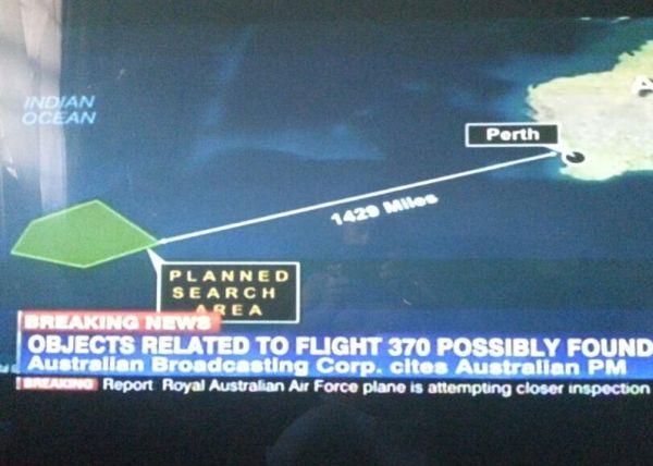 MH370 Plane Missing