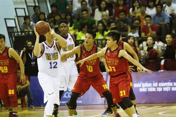 Saigon Heat win top ranking table