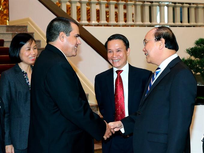 VN Cuba news agencies hail ties