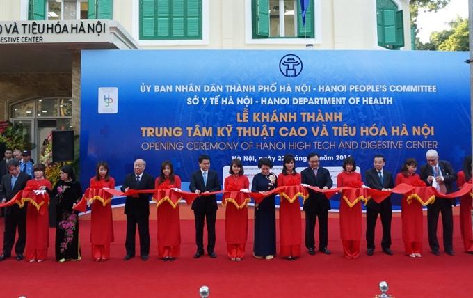Saint Paul Hospital opens digestive centre in Hà Nội