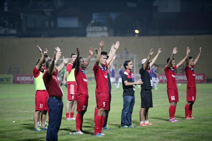 Quảng Ninh target entering top three at V.League