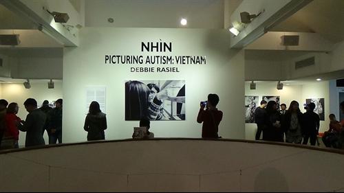 Exhibition features autistic Vietnamese children