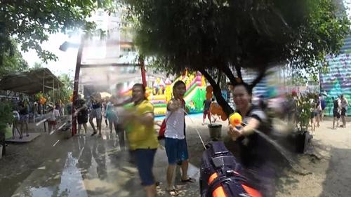 Saigon Outcast will celebrate Thai water festival, Songkran, in HCM City