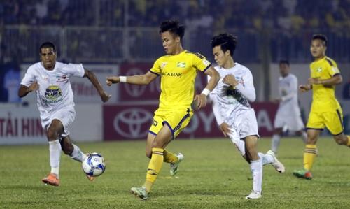 Gia Lai Nghệ An end V.League goalless