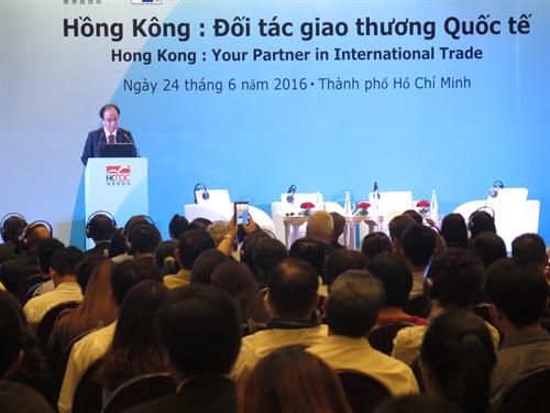 Firms eye trade in Hong Kong