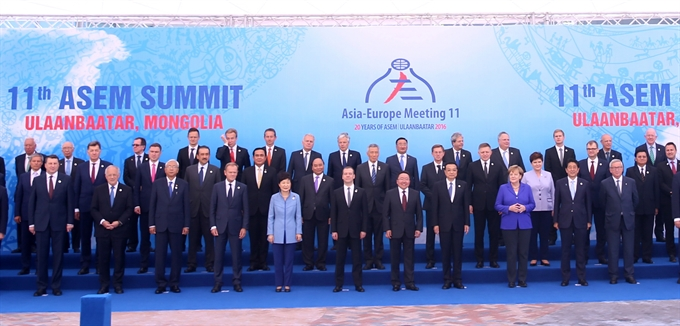 PM joins 11th ASEM Summit