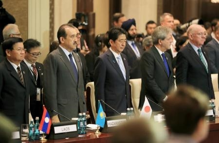 Nice attack overshadows Europe-Asia summit