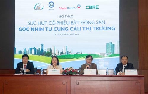 On HCMC bourse investors fancy property stocks
