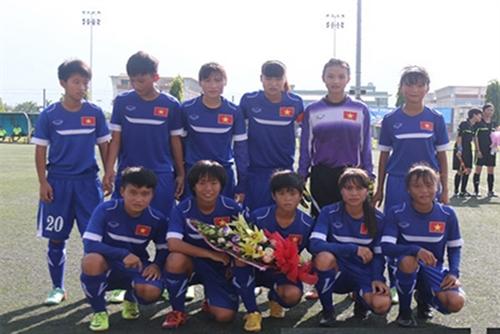 Việt Nam win in womens U16 qualifier