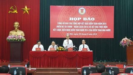 Việt Nams 2014 public debt reached 102 billion: State audit