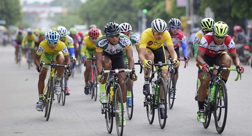 Duẩn wins 6th stage of VTV international cycling race