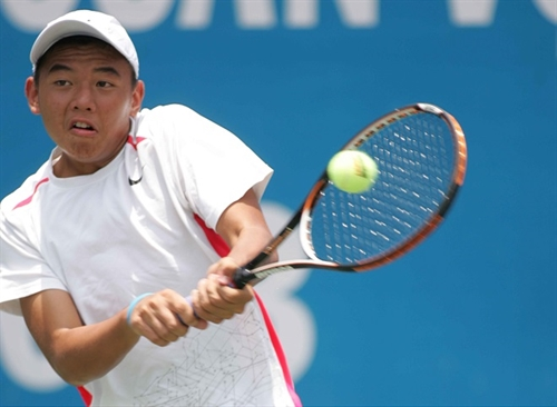Nam and partner finish runners-up in mens doubles event