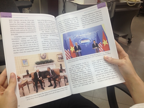 VN issues first diplomacy bluebook