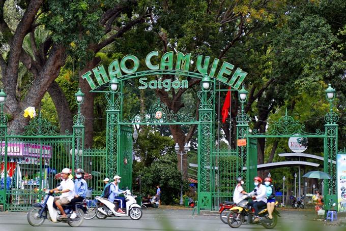 New museum garden opens at Sài Gòn Zoo