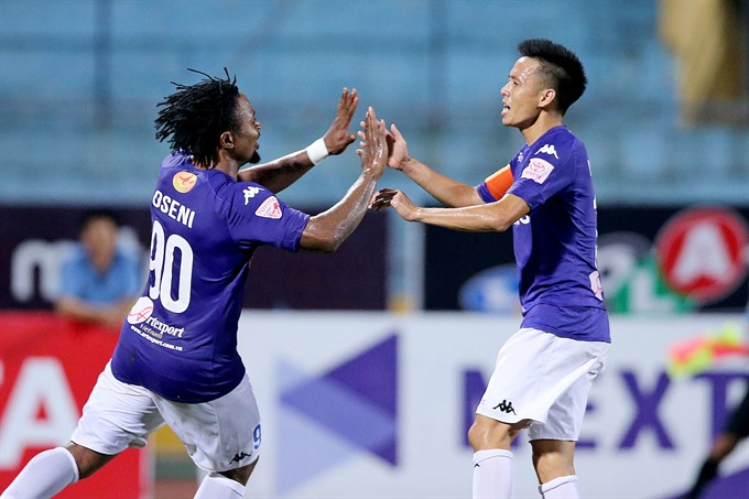 Hà Nội place second in V.League after big win