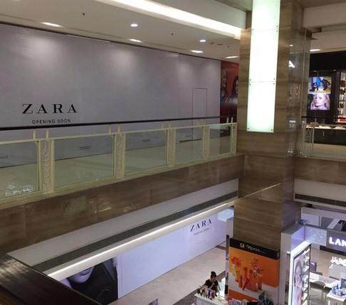 Zara HM to open HN stores in November