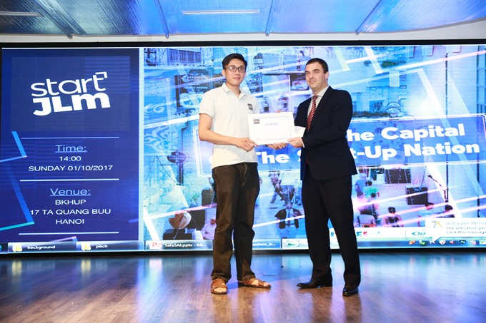 Start Jerusalem 2017: Drop Deck wins VN challenge