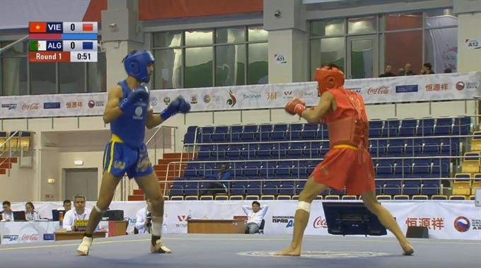 Vietnamese wushu fighters earn final slots in Russia