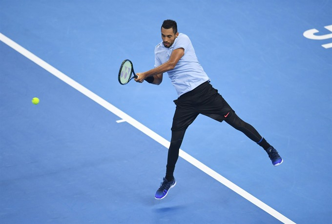 Little bit unusual but Kyrgios can go all the way says Nadal