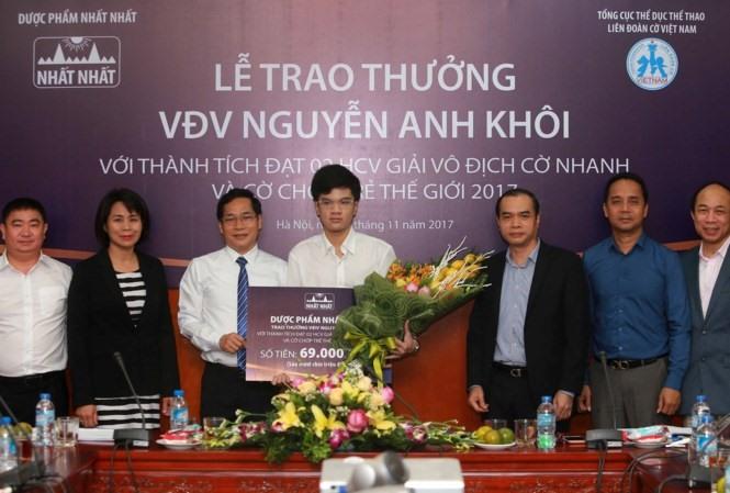Khôi aims to become Intl Grandmaster