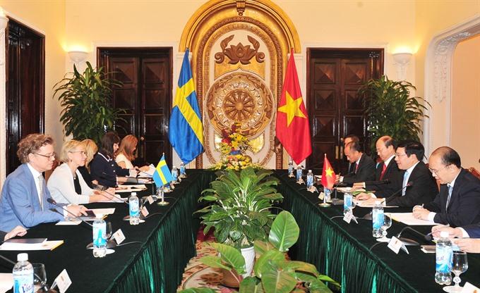Việt Nam Sweden accelerate ties