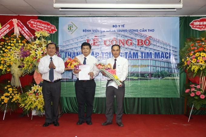 Cardiovascular centre opens in Cần Thơ