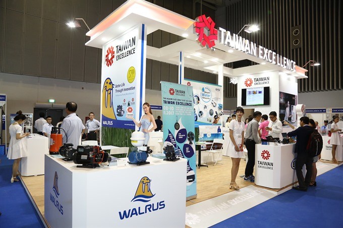 Water and energy exhibitions open in HCM City