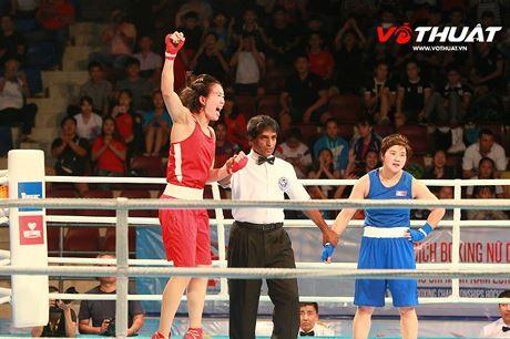Five Vietnamese boxers enter finals of Asian event