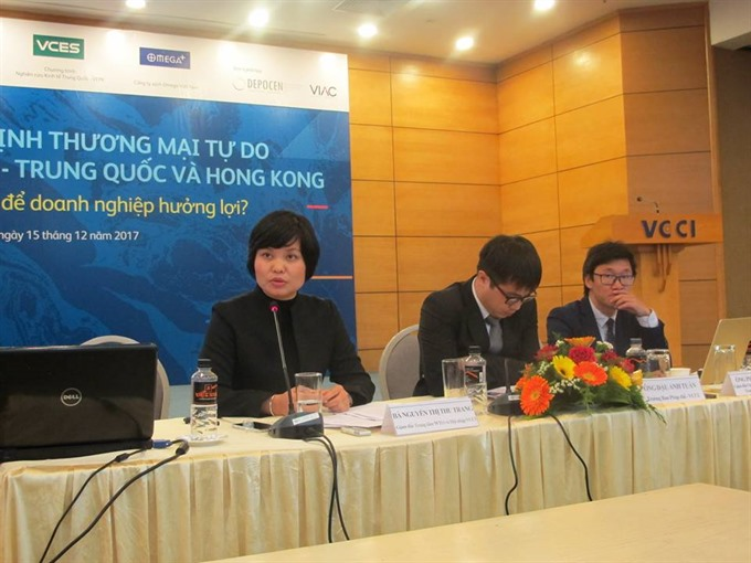 VN businesses face risks from Hong Kong China FTAs
