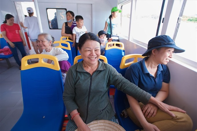 HCMC river buses need improvement