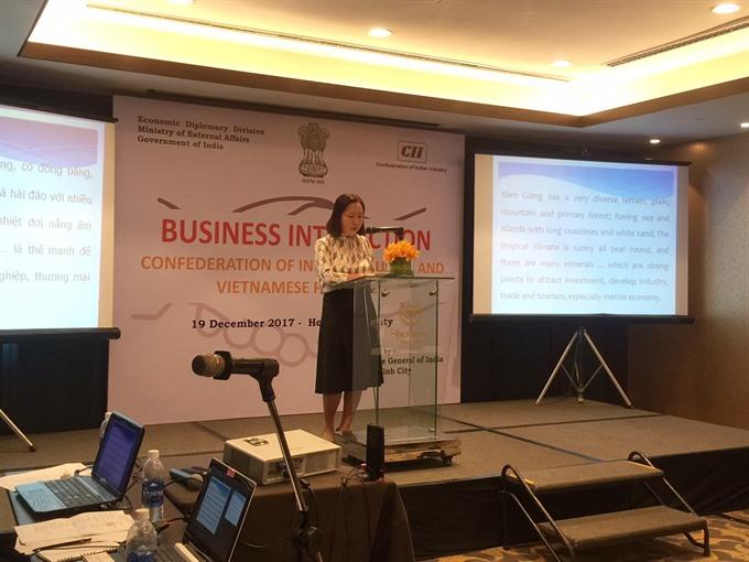 Vietnam India explore trade ties