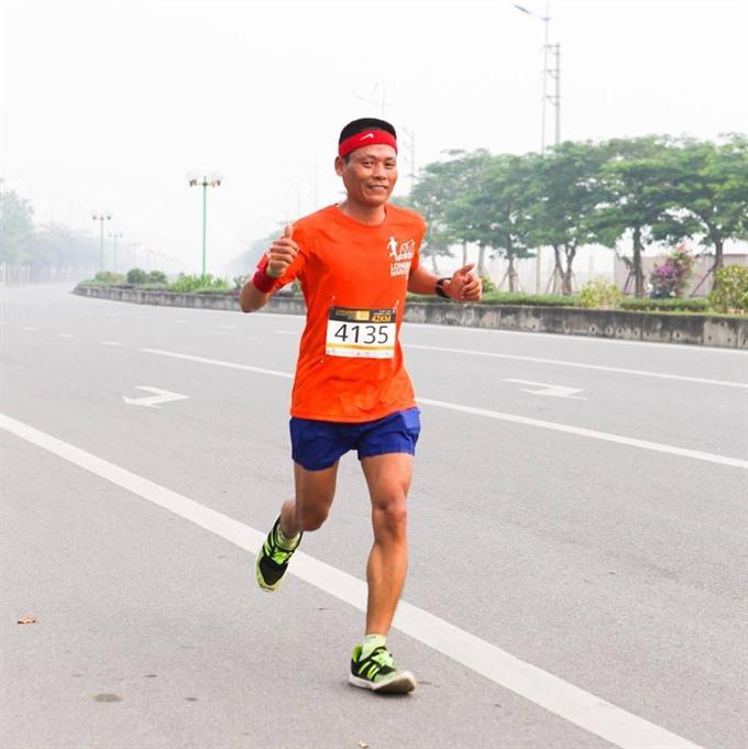 Running strong on self-belief determination