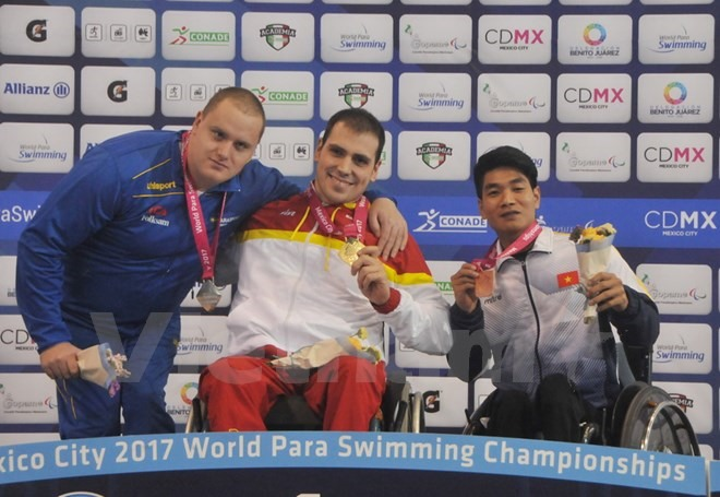 VN swimmers shine at world para champs