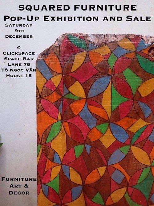 Squared Furnitures winter exhibition