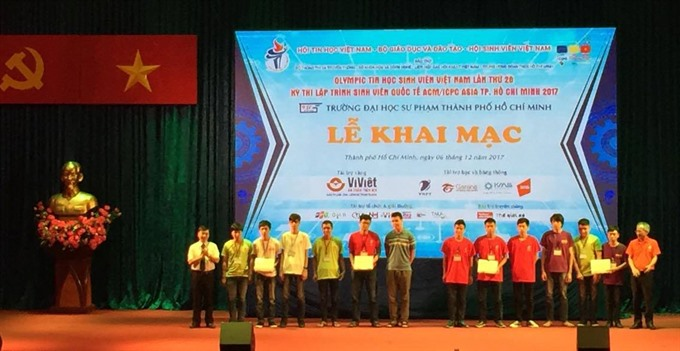 HCM City hosts qualifier round of intl IT contest