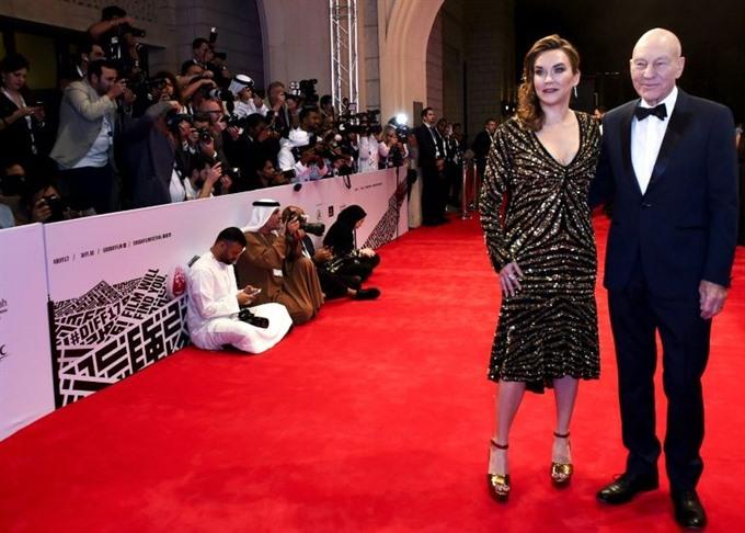 Patrick Stewart Irfan Khann kick off Dubai film fest