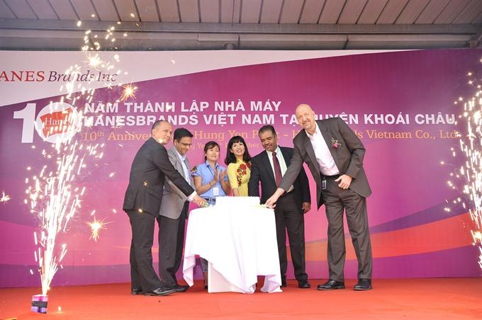HanesBrands Vietnam celebrates decade of steady growth