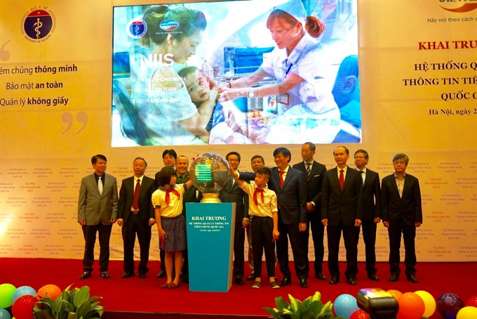 Health ministry launches National Immunisation Information System