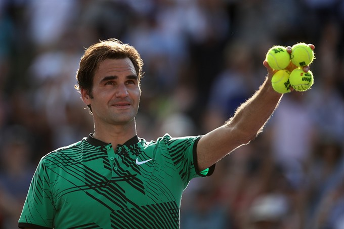 Federer Kyrgios advance to Miami Open semis