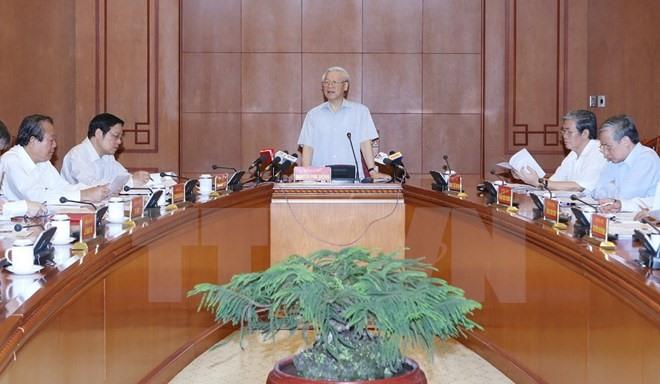Meeting discusses anti-corruption efforts